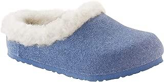 Birkenstock Kids Shoes Kaprun Kids Blue Happy Lamb Beige Size 26 N EU 8.0 N US