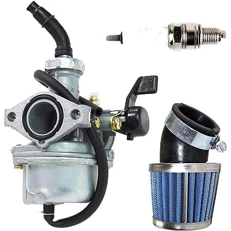 22mm Carburetor 38mm Air Filter For 110cc 125cc Go Kart ATV Quad Pit Dirt Bike