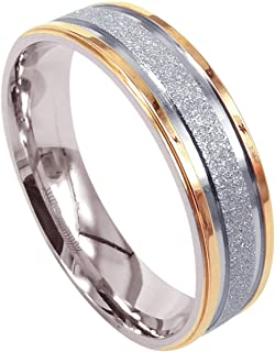 Amazon co uk: Titanium - Rings / Men: Jewellery