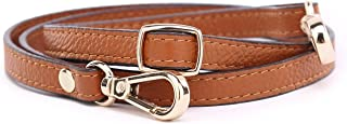 Leather Purse Straps Replacement Adjustable Shoulder Crossbody Straps for Handbags