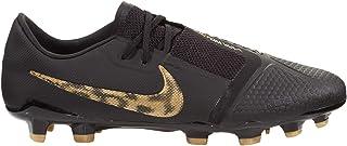 Nike Phantom Venom Pro FG Soccer Cleat (Black/Metallic Vivid Gold) (Men's 9/Women's 10.5)