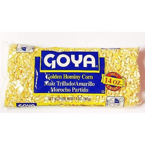 Goya dry golden hominy corn 14 oz