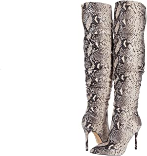 Jessica Simpson Women's Knee Boot, Neutral, 5.5