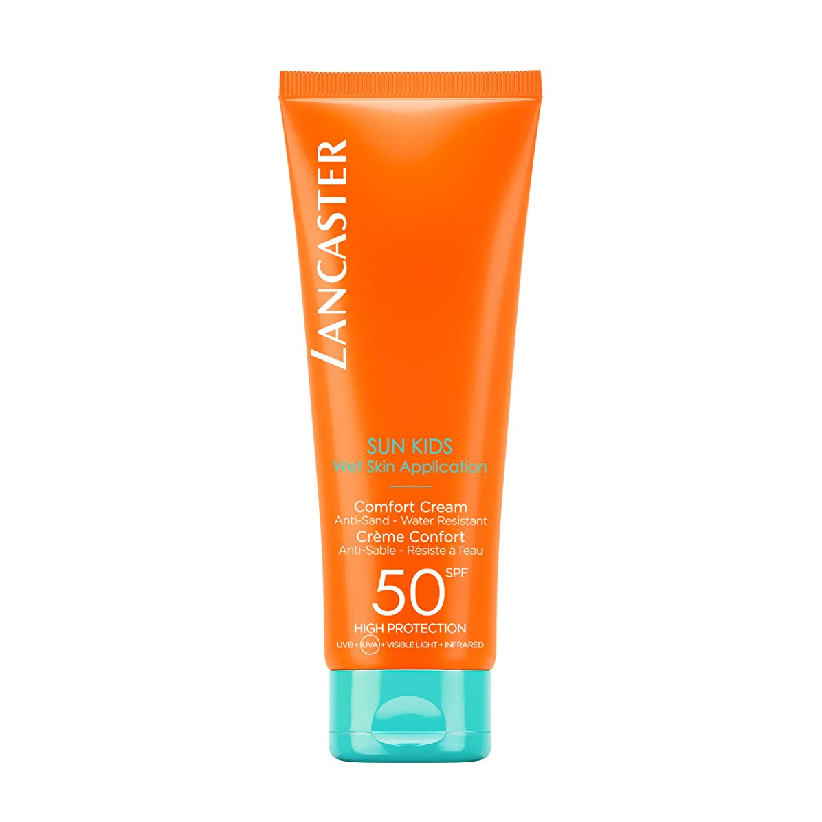干渉する取り付け音楽ランカスター Sun For Kids Comfort Cream (Wet Skin Application) SPF 50 125ml/4.2oz並行輸入品