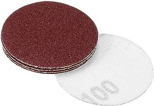 upain Lot de 80 Feuilles abrasives pour disques abrasifs avec Crochets et Boucles Assortis 60 80 120 180 240 320 400 800 Grains
