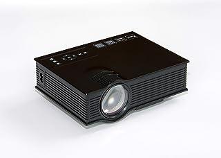 جهاز عرض محمول اتش دي ام اي 2 يو اس بي مع 800 لومن من ليد