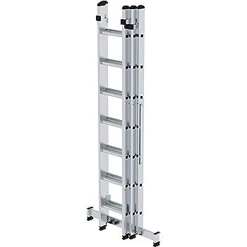 Aluminio Escalera Multiuso 3 Piezas 3 X 13 Plantas de Semillero: Amazon.es: Bricolaje y herramientas