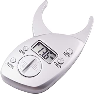 GAIN EXPRESS Digital Body Measuring Fat Caliper Measure mm inch Tool Body Fat Tester,Body Fat Monitors for Health Monitoring