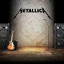 Metallica logo Vinyl Wall stickers para la habitacion de los niños Art Sticker Decal de musica heavy metal banda de rock casa decoracion Wall decals
