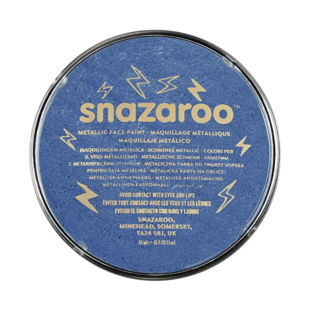 Snazaroo Face Paint,Electric Blue