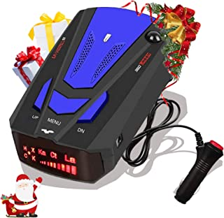 Laser Radar Detector for Cars,Voice Prompt Speed, Vehicle Speed Alarm System,LED Display,City/Highway Mode,Auto 360 Degree...