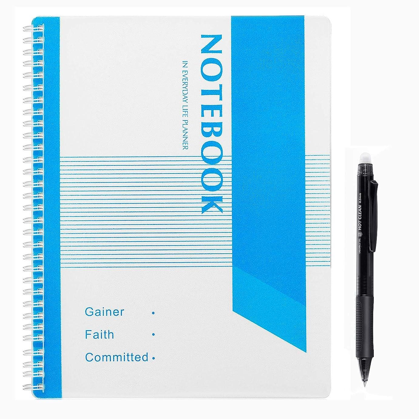 YOYOGI スマートノート 3冊セット 15枚 22*27.5cm 布で消し デジタルノート おもしろ 文房具 2019