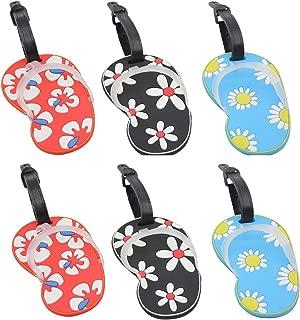 flip flop bag tags