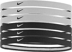 Nike - Lote de 6 cintas elásticas para el pelo