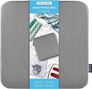 REALIKE Hitzepressmatte für Cricut Easypress 2 / Cricut Easypress (30,5 x 30,5 cm),..
