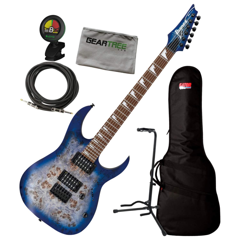 Cheap Ibanez RGRT621DPB BLF Blue Lagoon Burst RG Standard Electric Guitar w/Bag Tuner Black Friday & Cyber Monday 2019
