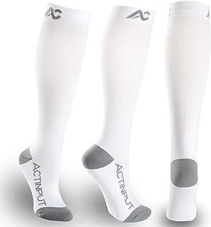 Medical Cushion Compression Socks 20-30mmHg for Women & Men Circulation - Best Stocking for Running, Flight Travel ,Nurses...