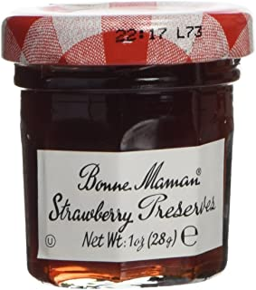 Bonne Maman Strawberry Preserve Mini Jars - 1 Oz X 60 Pcs Kosher