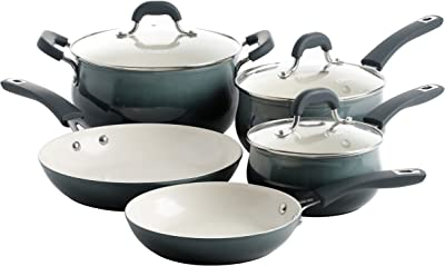 Oster Corbett Forged Aluminum Cookware Set - Best Eco Friendly Pots and Pans