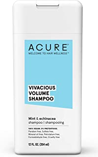 Acure Vivacious Volume Peppermint and Echinacea Shampoo 354 ml, 12 oz, 354 ml