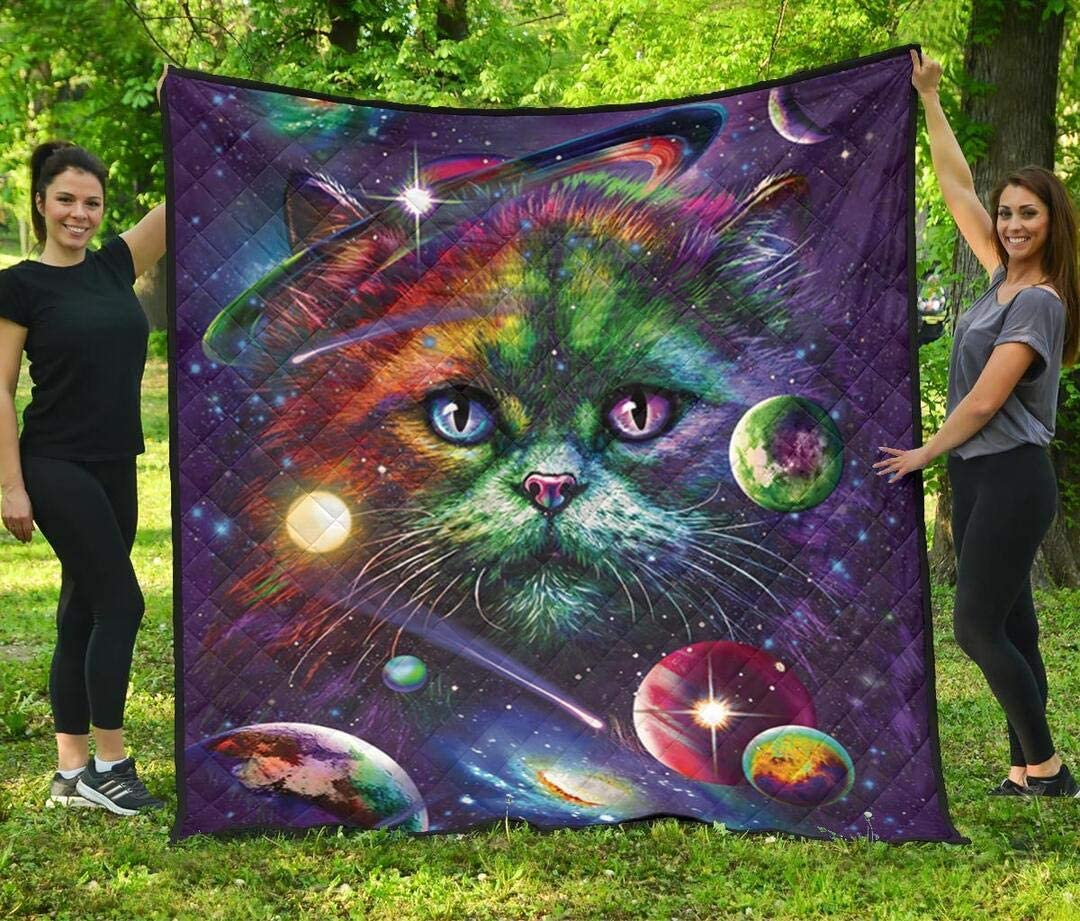 Personalized Cat Quilt Birthday Gift for Husband Factory outlet Ki Mom Wife Ranking TOP14 Dad