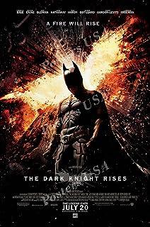 "Posters USA - DC The Dark Knight Rises Batman Movie Poster GLOSSY FINISH - FIL217 (24"" x 36"" (61cm x 91.5cm))"