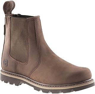 Buckler Buckflex B1400 Chocolate Brown K10 Sole Dealer Boots | UK Sizes 7-13