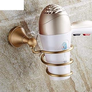 CHUTD Support pour sèche-Cheveux, étagère pour sèche-Cheveux, Support pour sèche-Cheveux, étagère Murale pour Tube de Rang...
