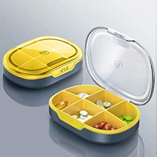 All Cart Pill Case Secure, Travel Pill Case Cute, Small Travel Pill Case, Small Pill Box, Plastic Pill Containers, Purse Pill Box Organizer, Pill Containers, Pill Box for Purse, Pill Organizer