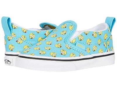 Vans Kids Vans X The Simpsons Sneaker Collection (Infant/Toddler) ((The Simpsons) Maggie (Slip On V)) Kid