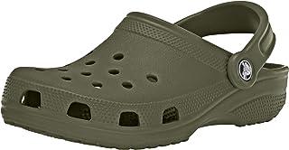 Unisex Adults Classic Clog Shower Beach Lightweight Water Shoes - Khaki -