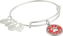 Charity By Design My Cat Is My Valentine Bangle Bracelet