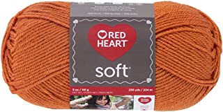 Red Heart Soft Yarn, Tangerine