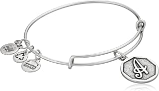 Alex and Ani Initial Expandable Wire Bangle Bracelet, 2.5""