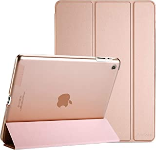 Procase iPad 2 3 4 Case (Old Model) – Ultra Slim Lightweight Stand Case with Translucent Frosted Back Smart Cover for Apple iPad 2/iPad 3 /iPad 4 –Rose Gold