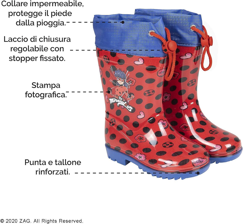 2300003497 Stivali di Gomma Bambina Ladybug