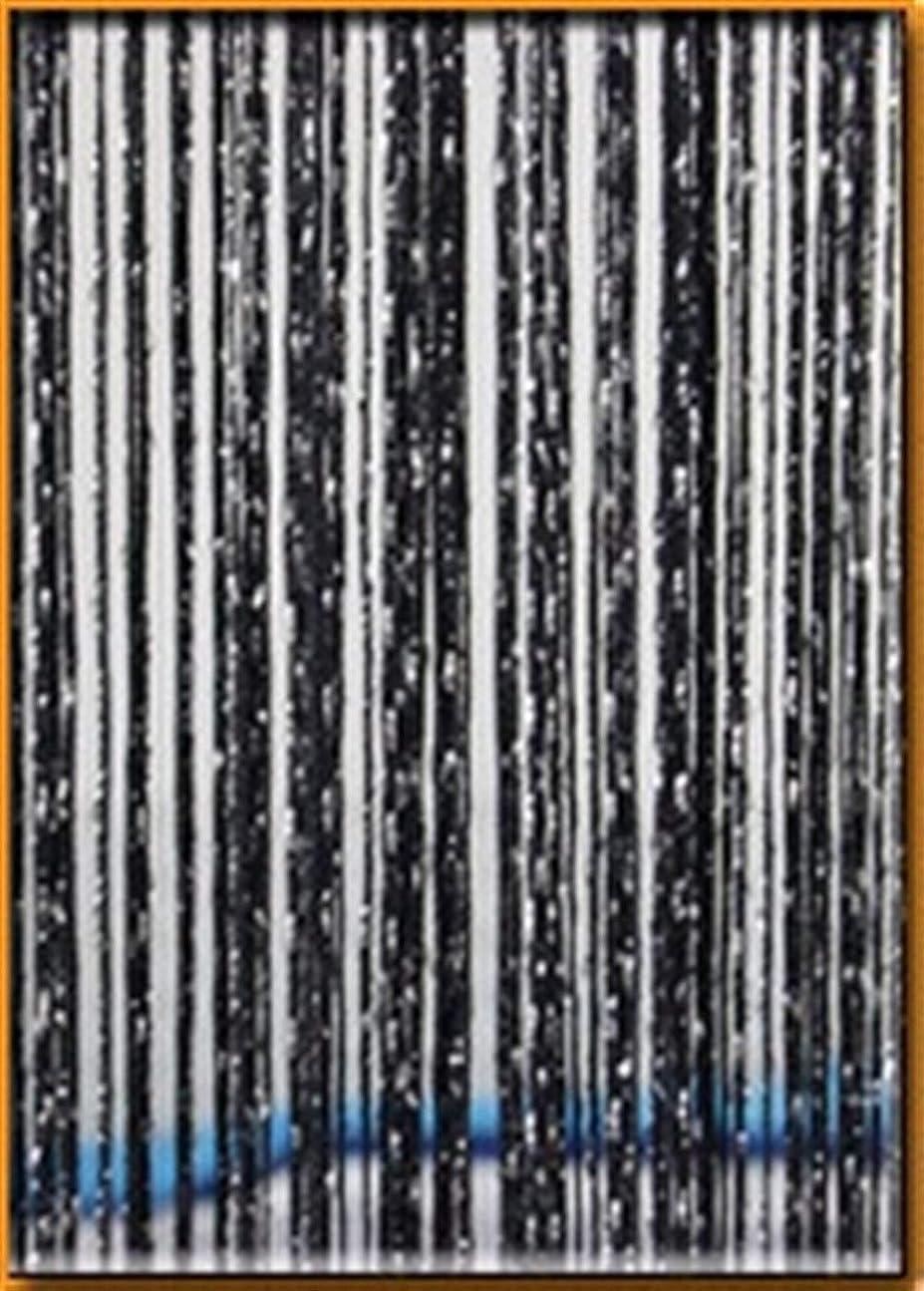 に応じてかなりのマナーShiyanghang リビングルームウェディングDIYホームデコレーション用の光沢のあるタッセルストリングカーテン (Color : ブラック, サイズ : 200x260cm)