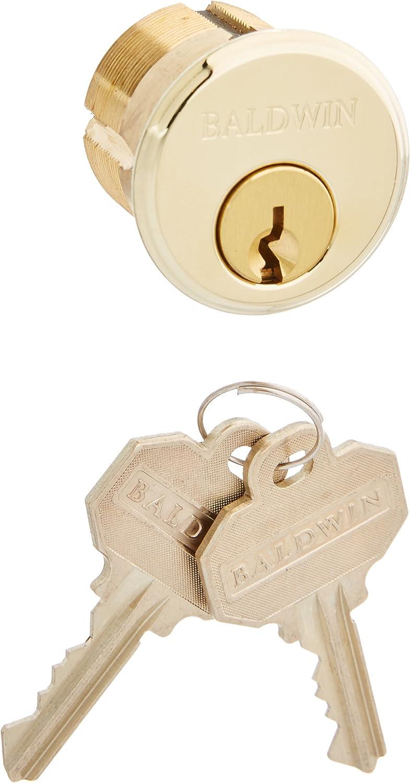 Baldwin 8322.003 Mortise Lock Fashionable Cylinder Omaha Mall 1-1 Diameter Lifetime 8