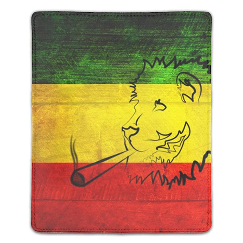 Reggae Art Art Mouse Pad - Natural Rubber Mouse Pad - 8.66 x 7.08 inch