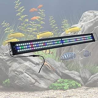 XOYO 156 LED Aquarium Light Full Spectrum Lamp for 45-50