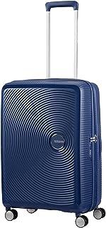 American Tourister - Soundbox - Spinner Equipaje de mano 55 cm, 41 L, Azul (Midnight Navy)