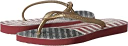 Havaianas Kids - Slim Chevron Stars and Stripes Sandals (Toddler/Little Kid/Big Kid)