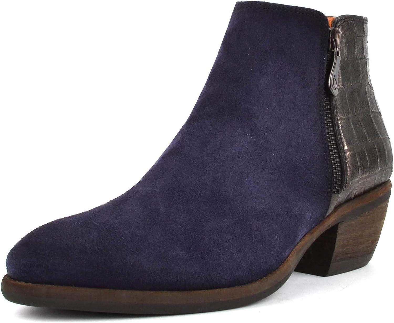 Kanna Kanna Borba Blaue Wildleder Stiefelies  fantastische Qualität