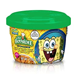 Chef Boyardee SpongeBob Pasta and Meatballs Made with Pork, Chicken, and Beef in Tomato Sauce, 7.5 O