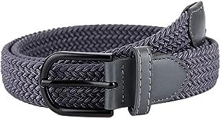 Braided Elastic Woven Canvas Belts for Men/Women/Junior, 1.2 Inch Wide Bibest Golf Fabric Stretch Belt