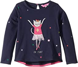 Ava Applique T-shirt (Toddler/Little Kids)