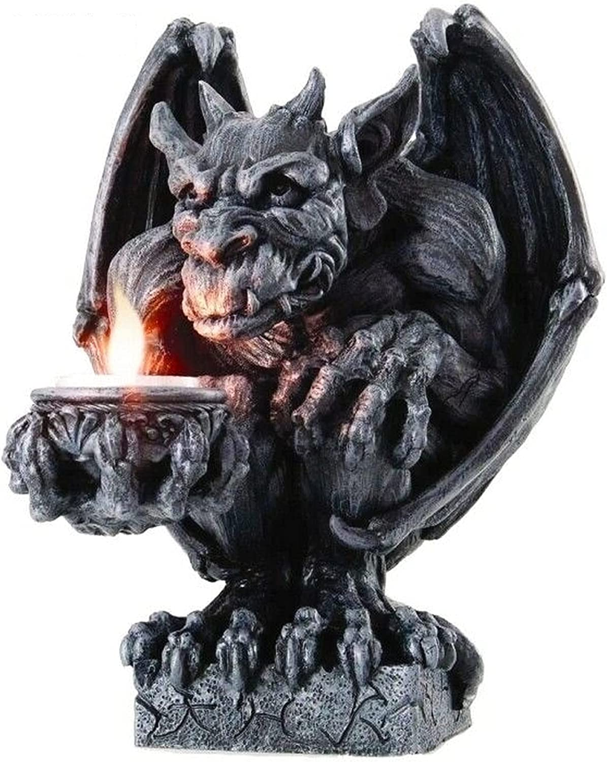 New Gothic Squatting Candleholder Max 81% OFF Statue Ranking TOP8 Desktop 8