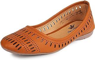 1029cef15f788 Amazon.in: Brown - Ethnic Footwear / Women's Shoes: Shoes & Handbags