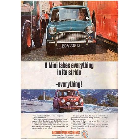 Mini Cooper Parking Tin sign Metal plaque retro classic car garage shed mancave
