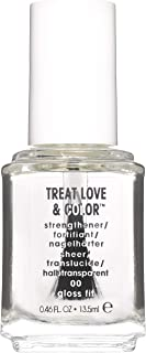 essie Treat Love & Color, Breathable Nail Polish, Gloss Fit, Clear, 13.5 ml